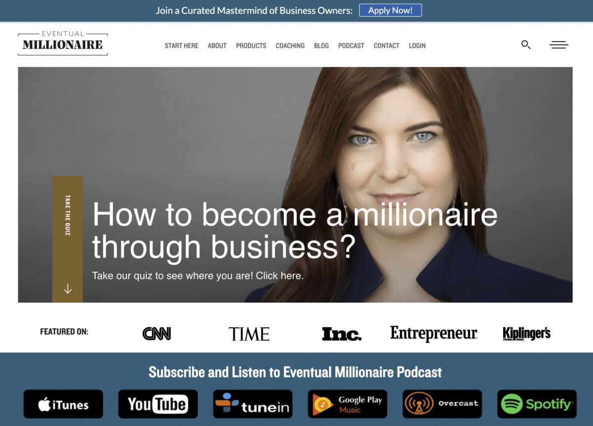 Eventual Millionaire Podcast of Jamie Masters