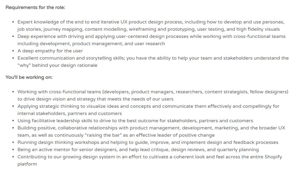Example Job Description Work Remotely