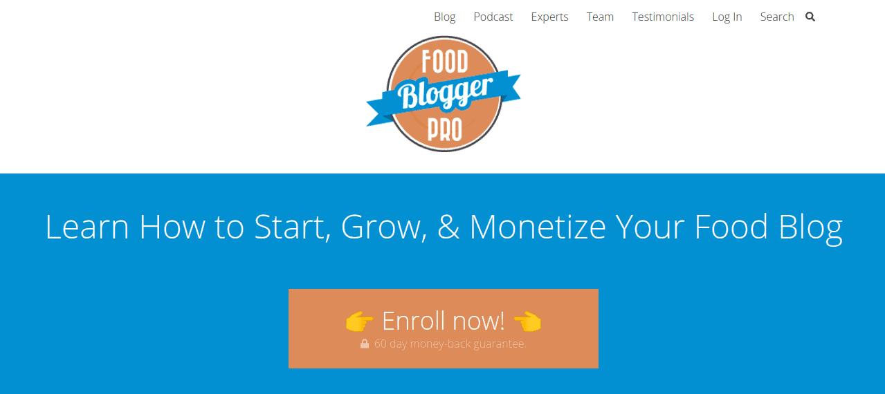 Food Blogger Pro Membership - Ways How to Make Money Online