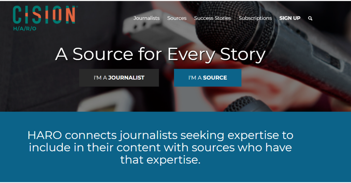 Help A Reporter Out - Connects Journalist
