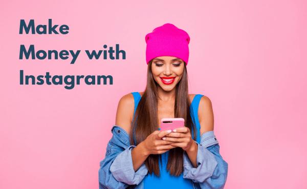How to make money online Instagram