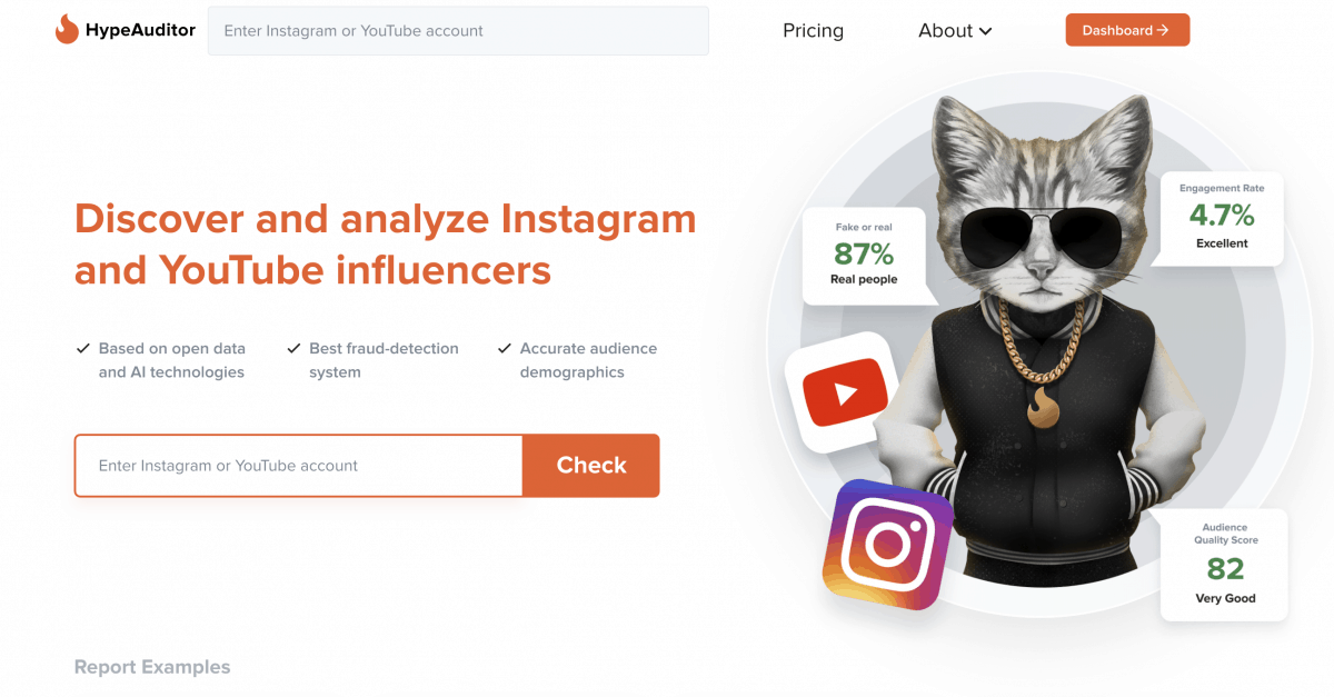 HypeAuditor Instagram Analytics