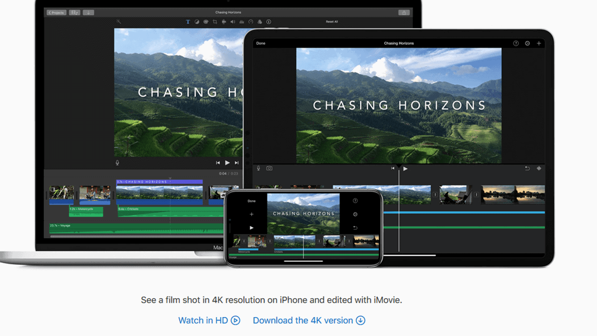 iMovie - Video Editing Software