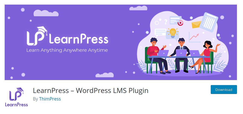 Learnpress Plugin