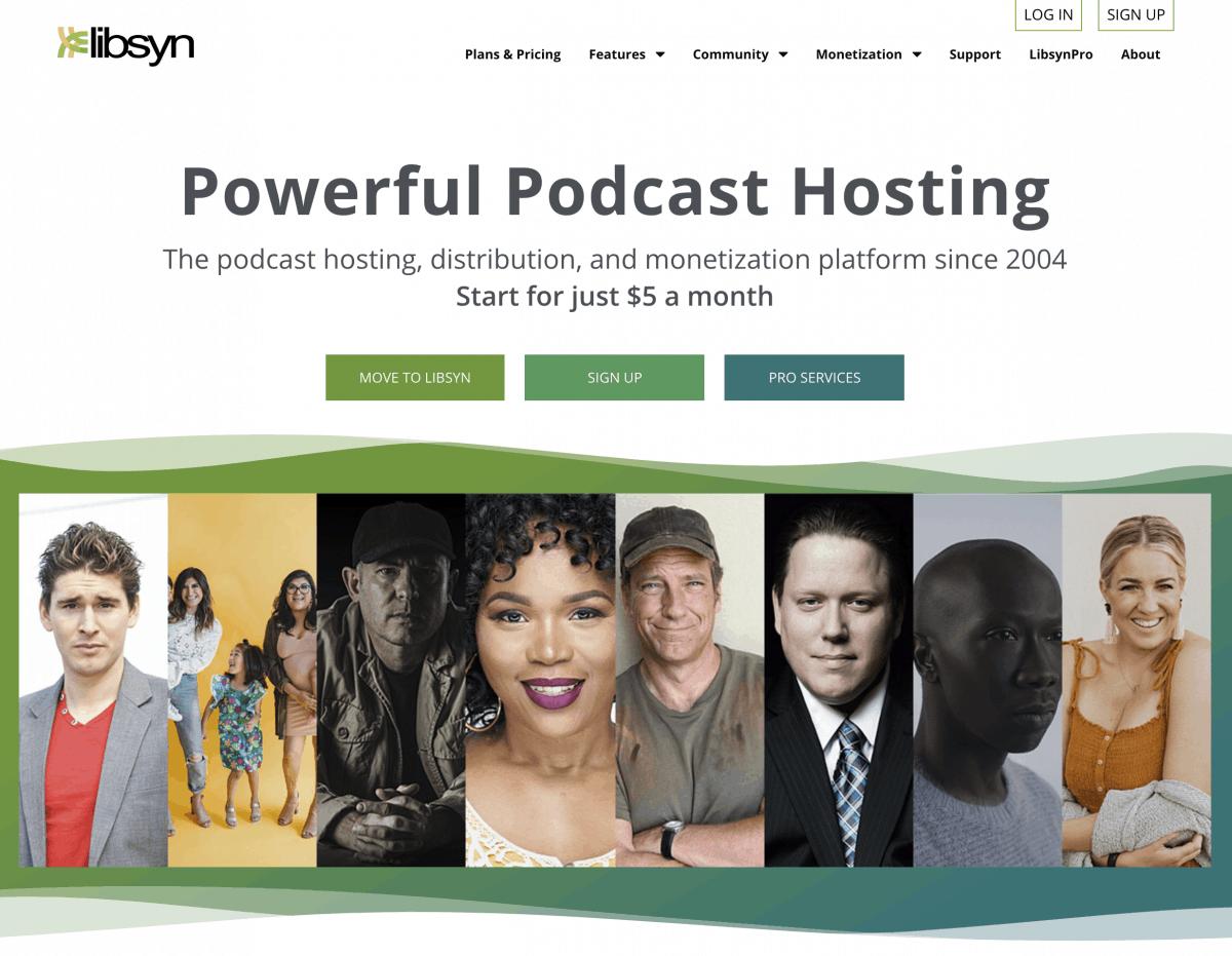 Libsyn Podcast Hosting