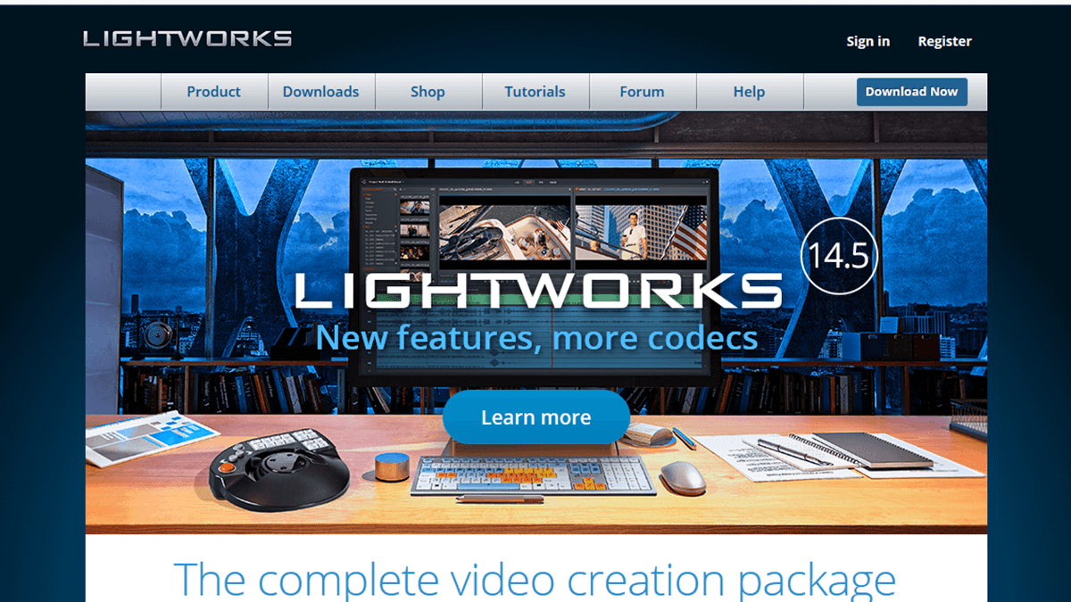 Lightworks - Video Editing Software
