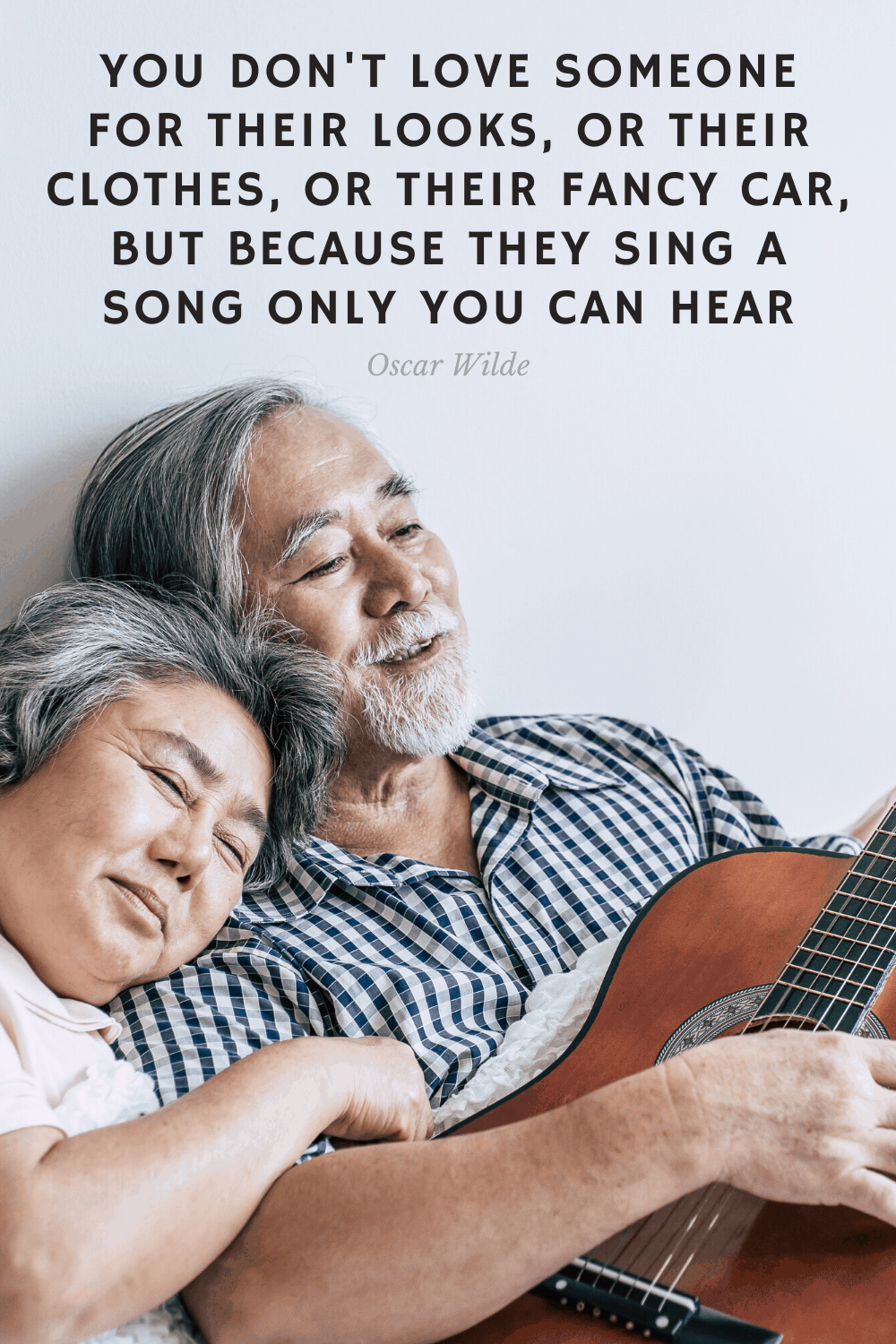 Love is sing a song only you can hear
