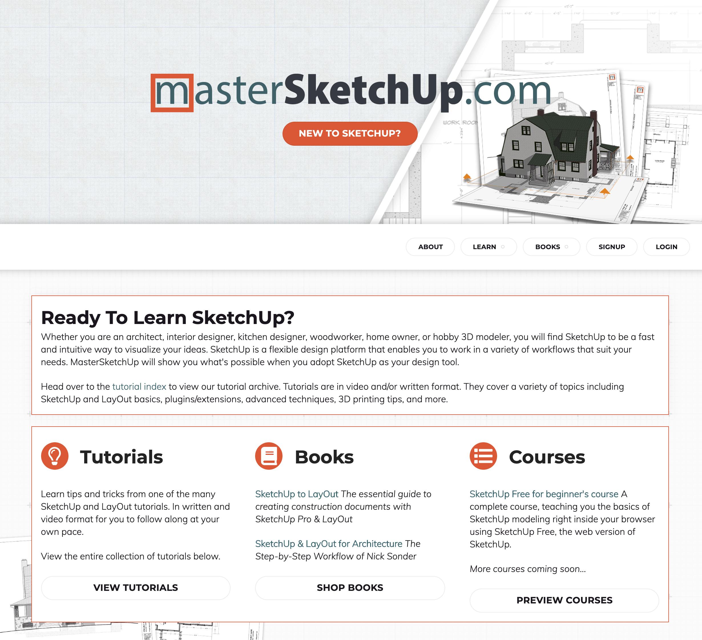 Esempio di email Master Sketchup