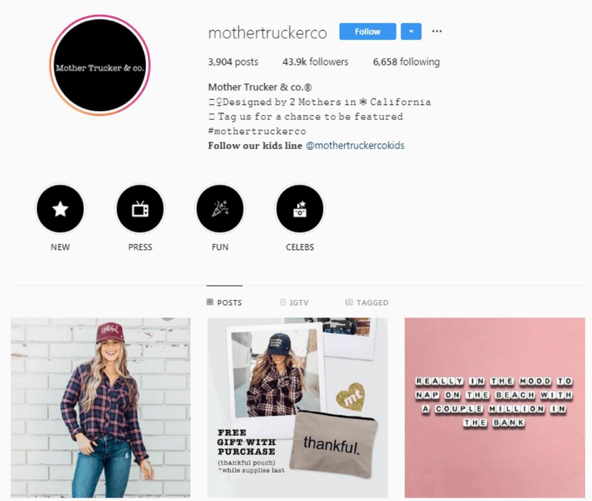 Mothertruckerco Instagram