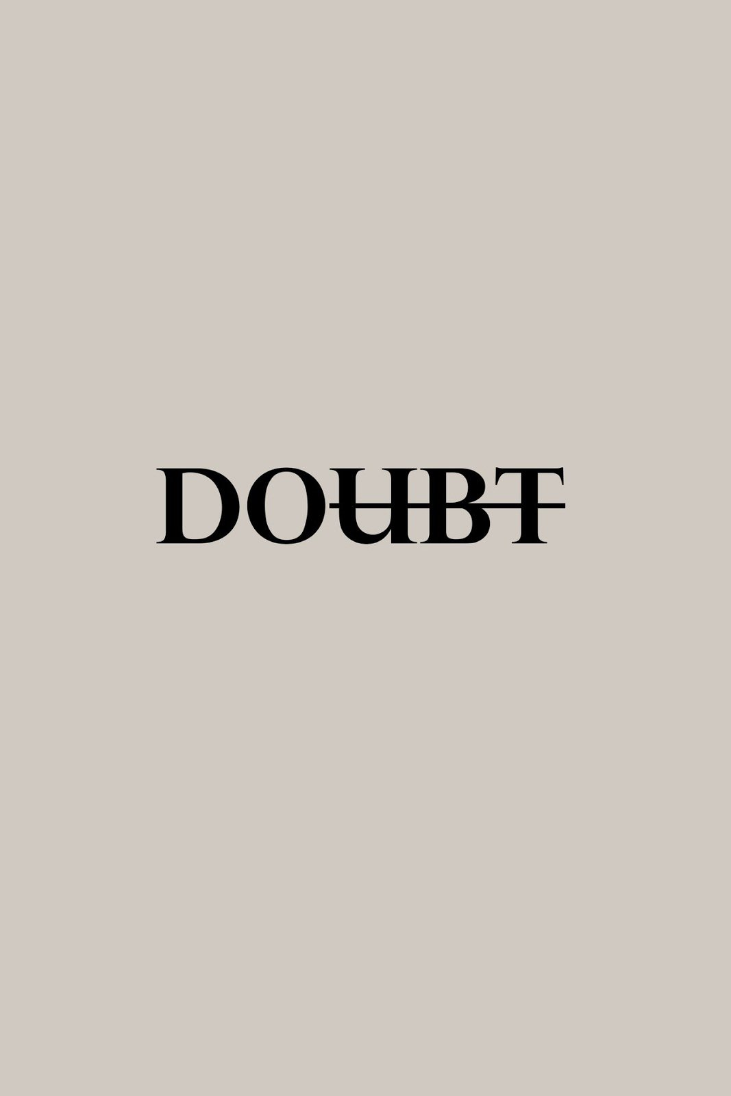 Doubt changes to do