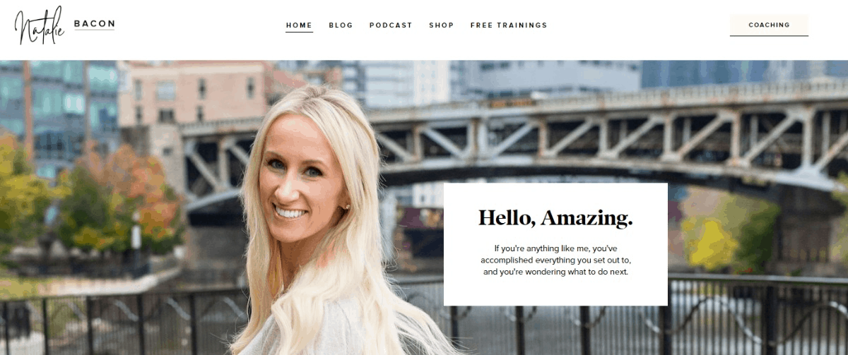 Natalie Bacon Blog