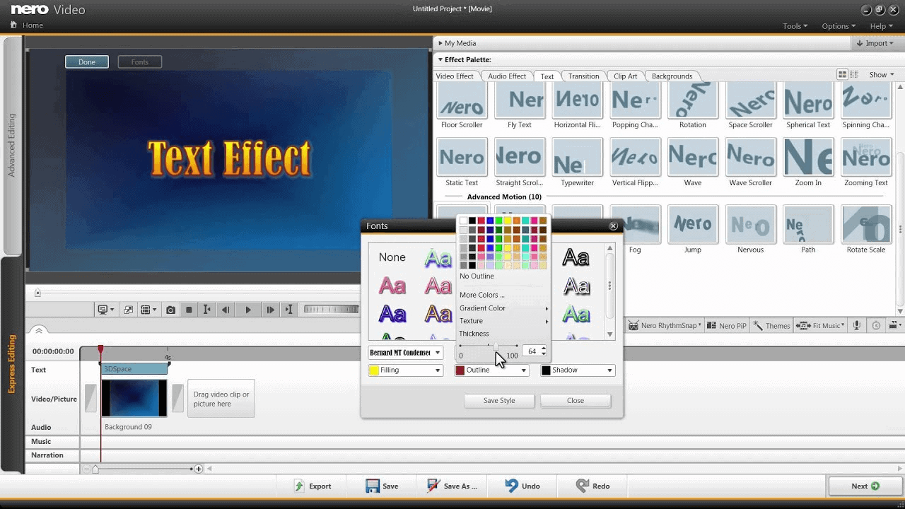 Nerovideo - Video Editing Software