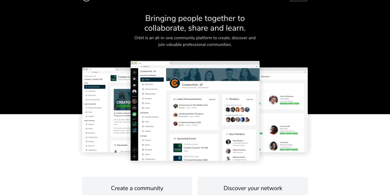Orbit Homepage