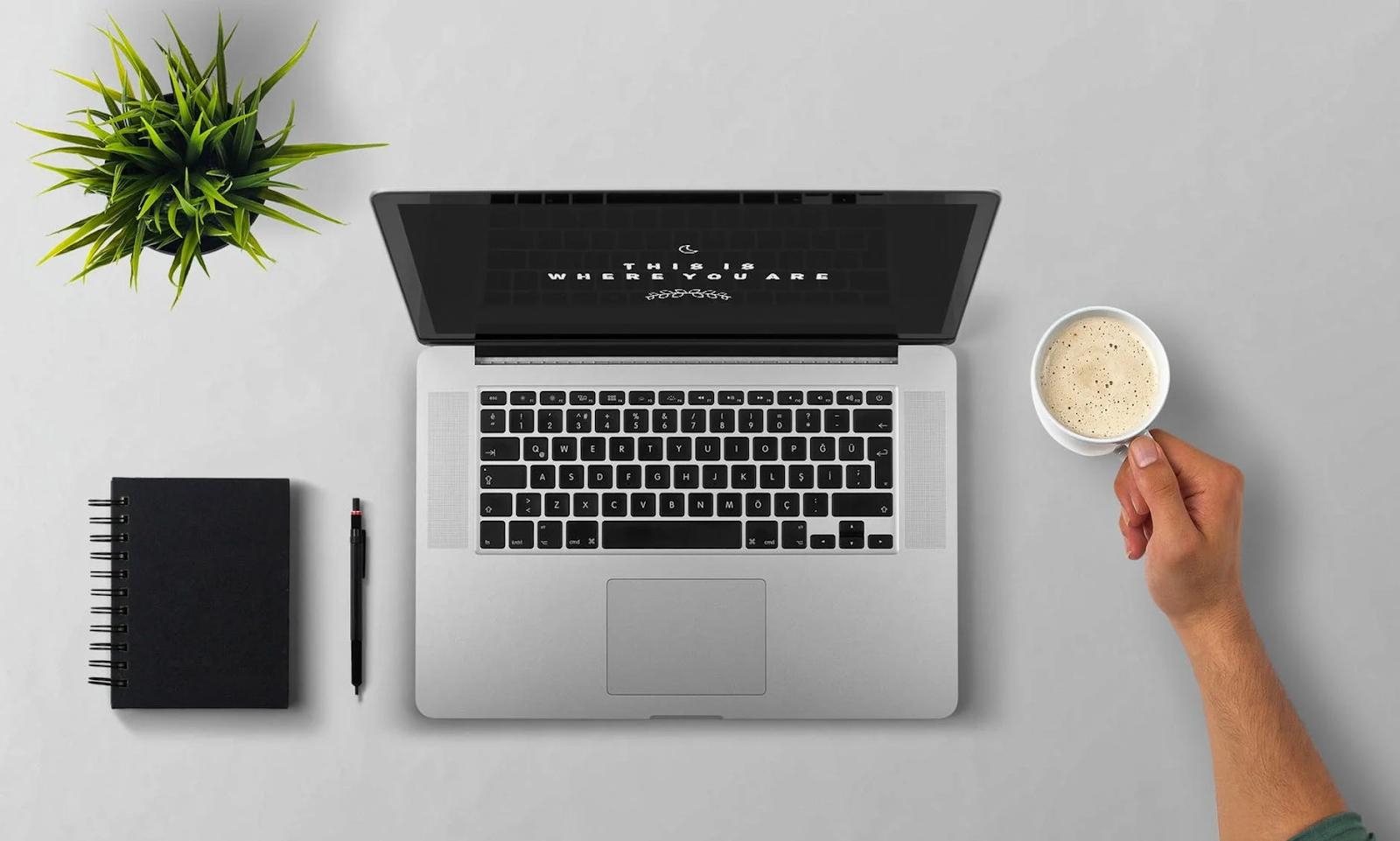 Laptop workplace