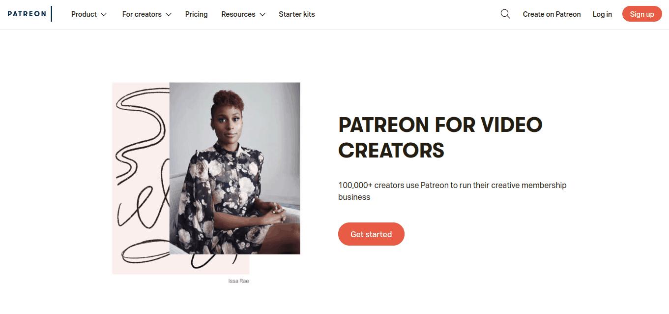 patreon-homepage