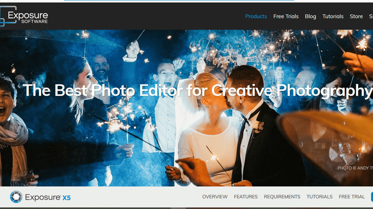 Exposure-X5 Photo Editing Software