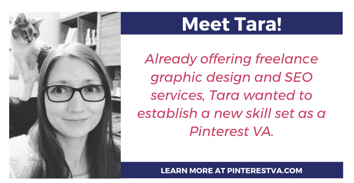Pinterest Virtual Assistant Tara
