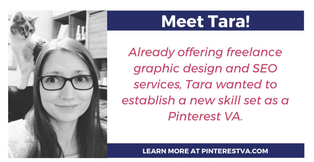Pinterest Virtual Assistant Tara