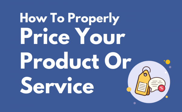 Price your product or service
