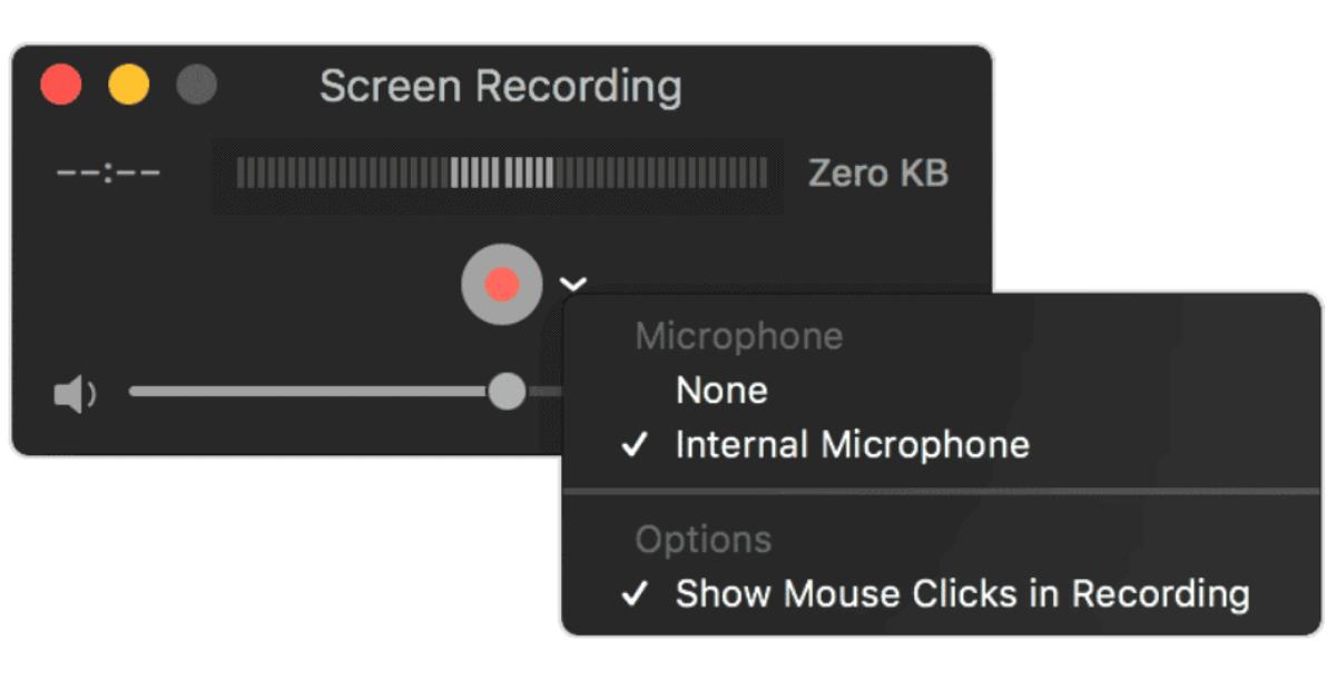 Recording Webinar on mac