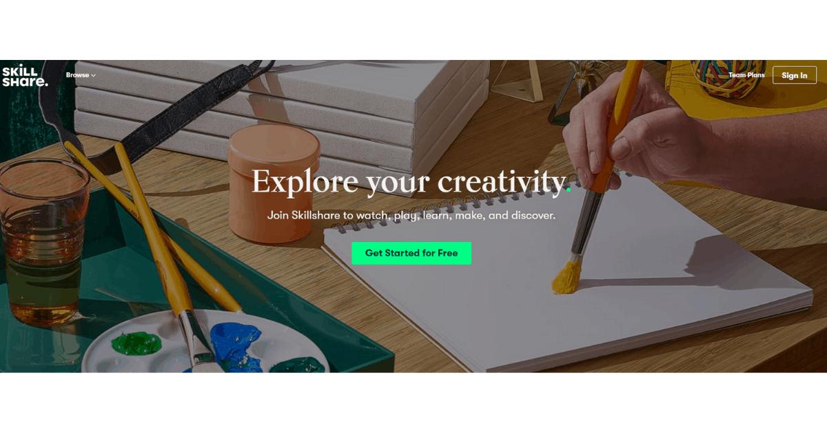 Skillshare - Start Your Online Courses