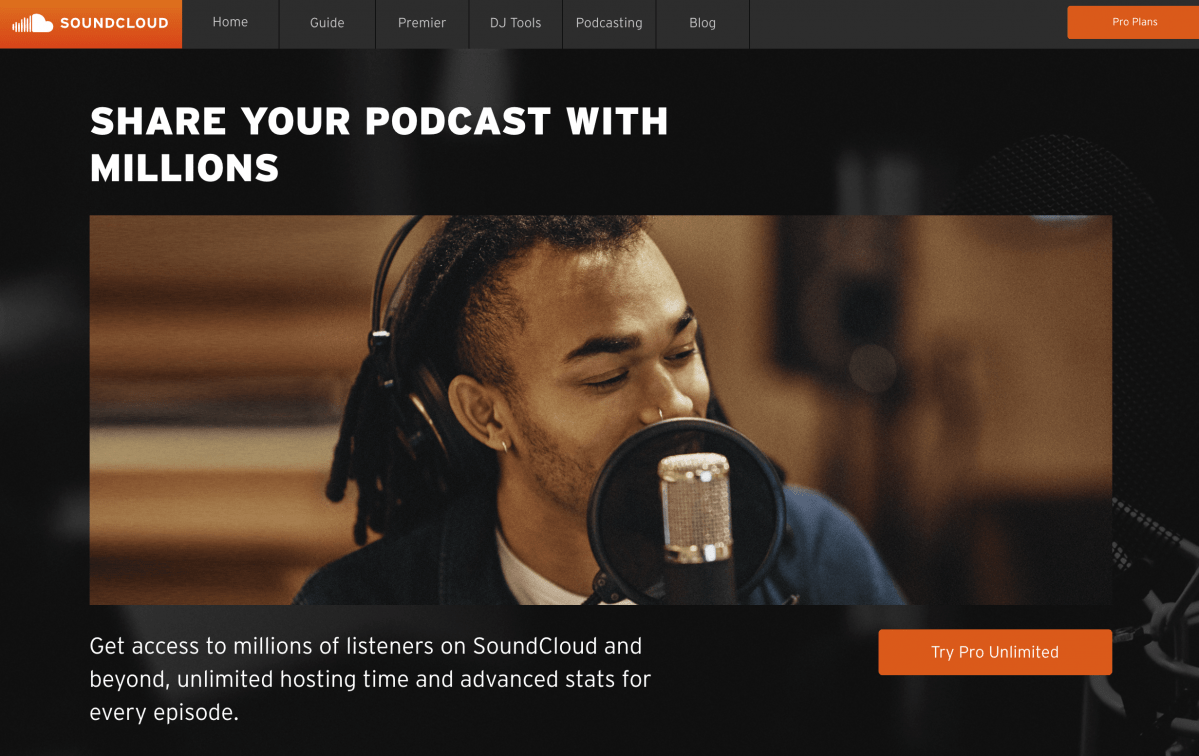 Soundcloud Podcasting - Podcast Hosting