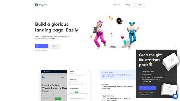 Unicorn Platform Website
