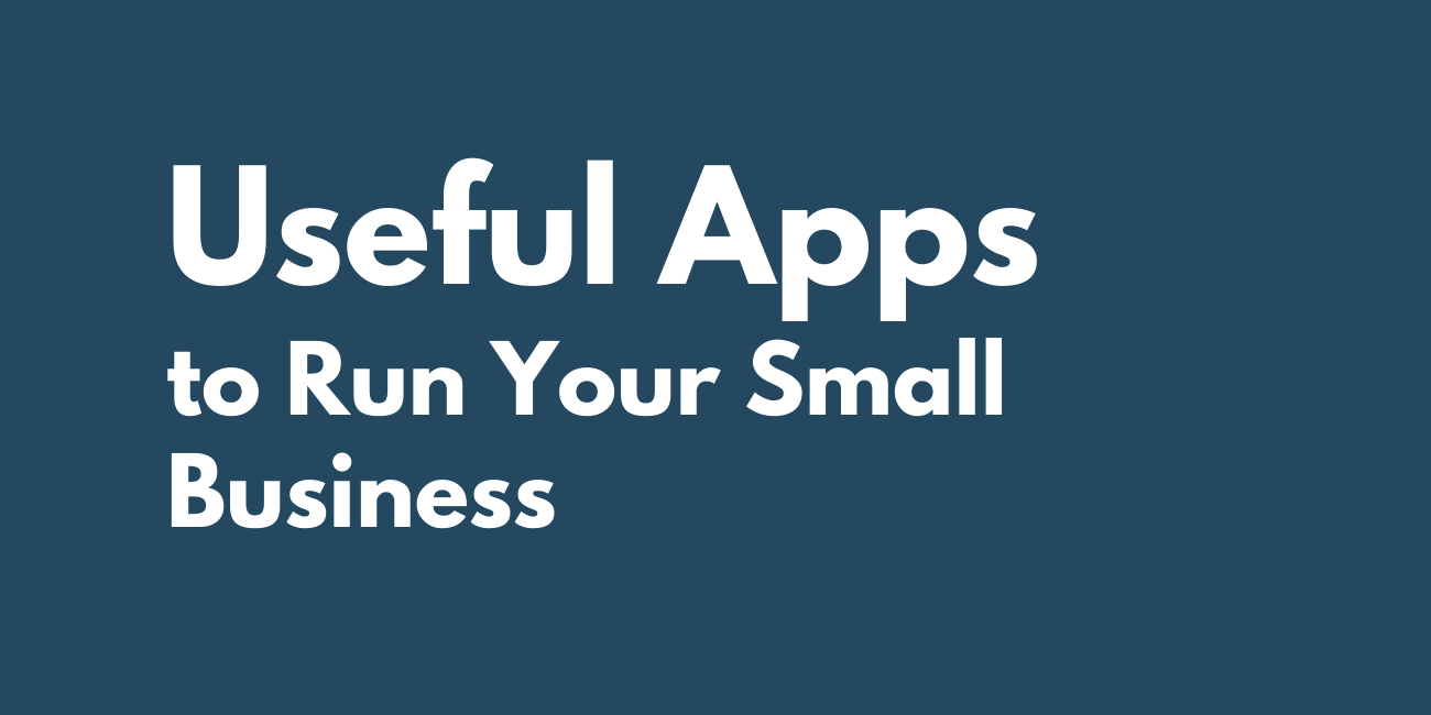 Useful apps small business