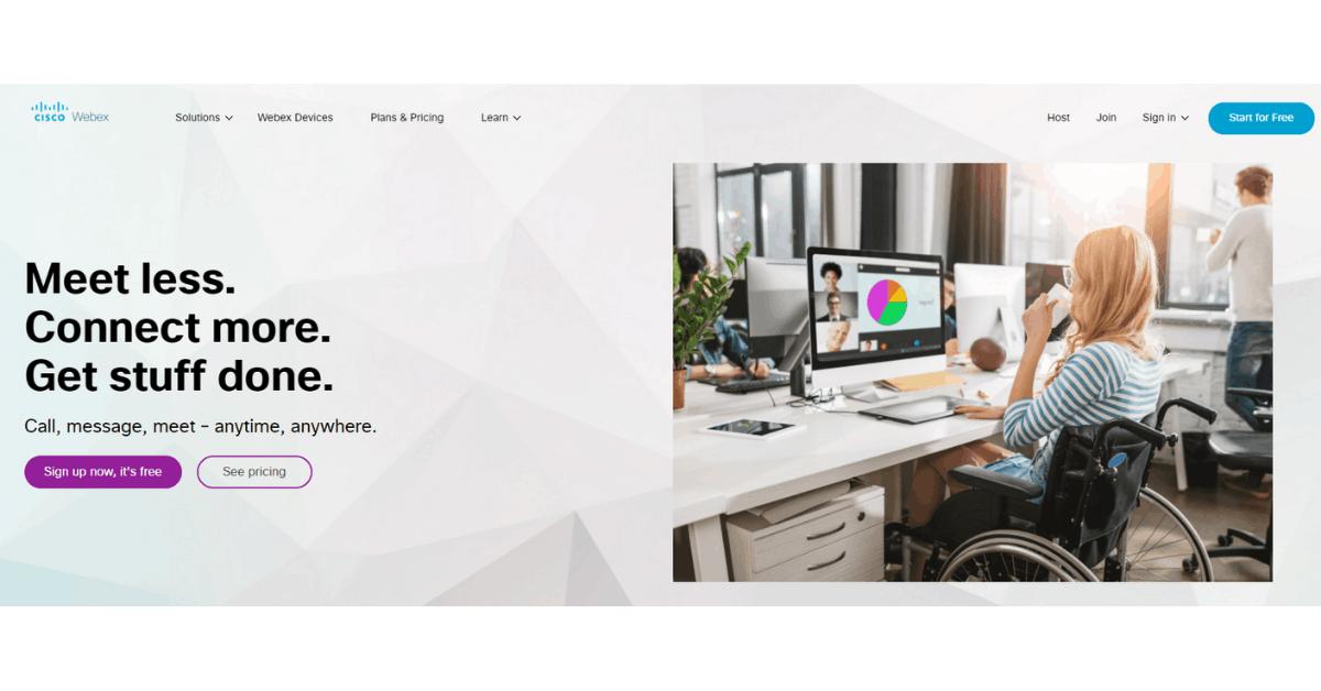 Webex - On-the-go Webinar Platform