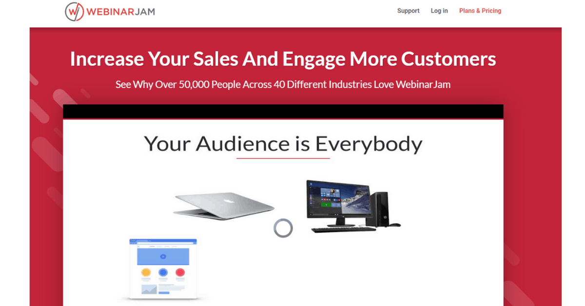 WebinarJam - Increase Your Sales and Engagement