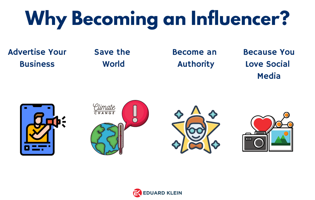 why becoming influencer