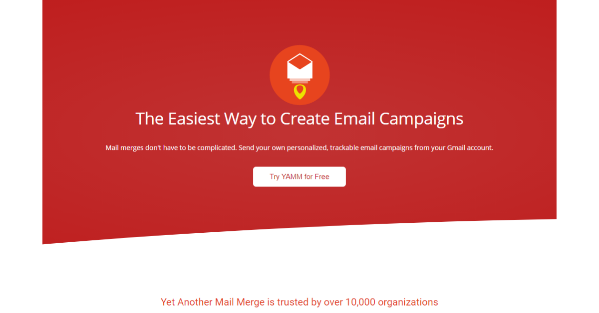 Yet Another Mail Merge - Create email Campaigns
