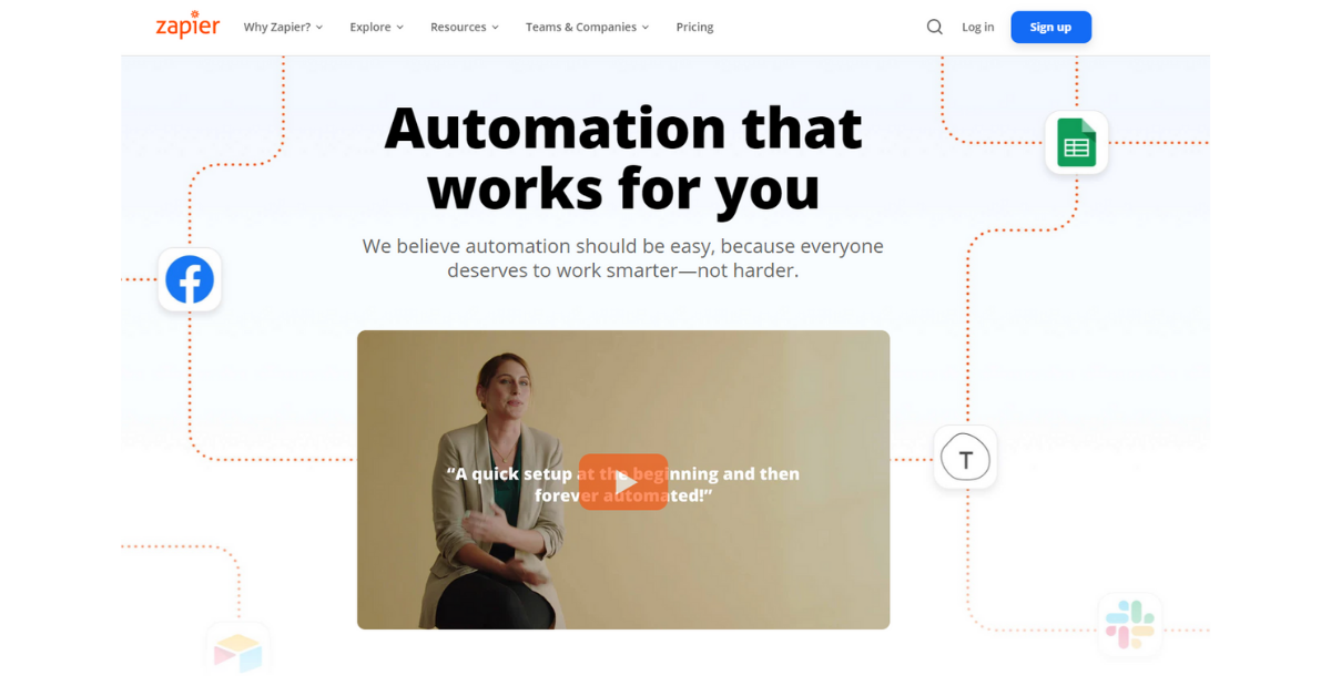 Zapier - Automation Should be Easy