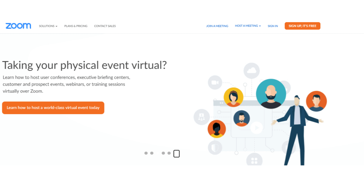 Zoom - Host a Virtual Event